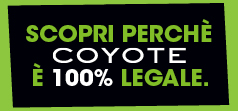 Coyote 100% legale
