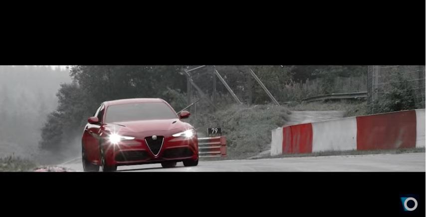 Alfa romeo Giulia Nurburgring