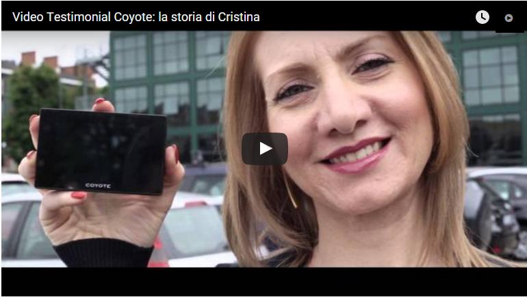 Video Testimonial Coyote, la storia di Cristina
