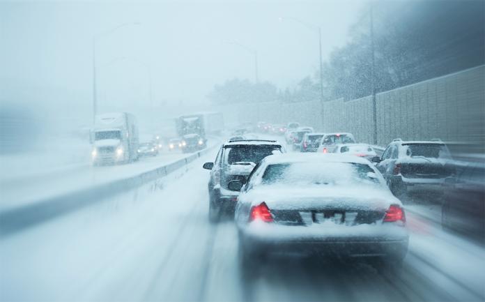 guida sicura sulla neve