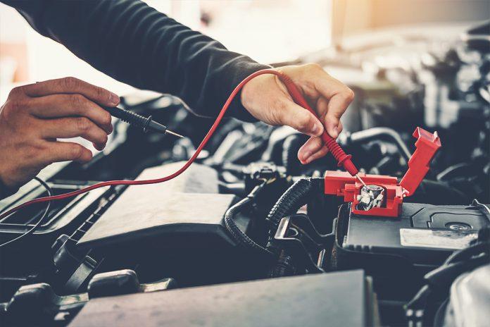 Livello carica batteria auto