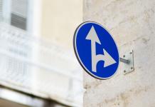 differenze tra segnali stradali