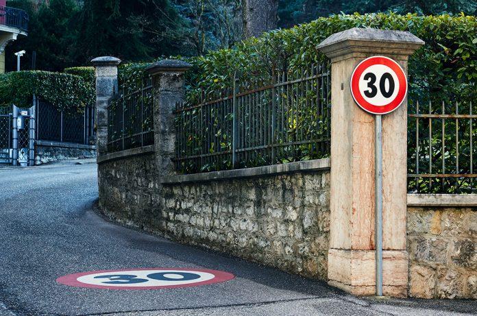 Limite di velocità di 30 km/h