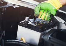 batteria dell'auto