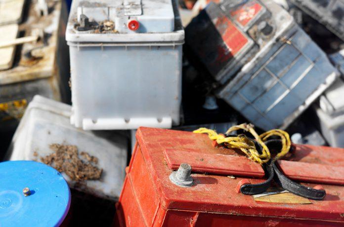 riciclo dei metalli delle batterie